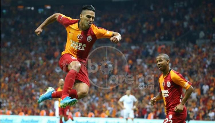 Galatasaray 1-0 Kasımpaşa maç özeti izle (Falcao'nun Kasımpaşa'ya attığı golü İZLE)