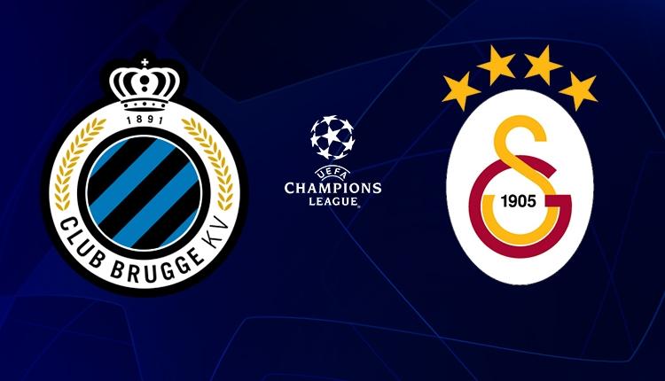 Galatasaray, Club Brugge deplasmanına konuk oluyor