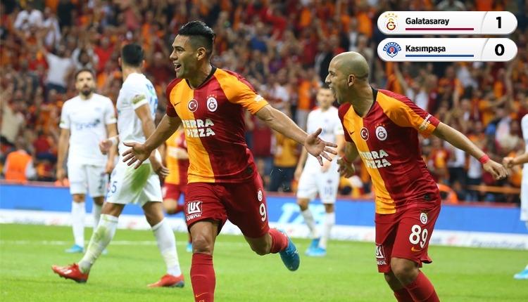 Galatasaray 1-0 Kasımpaşa maç özeti ve golü (İZLE)