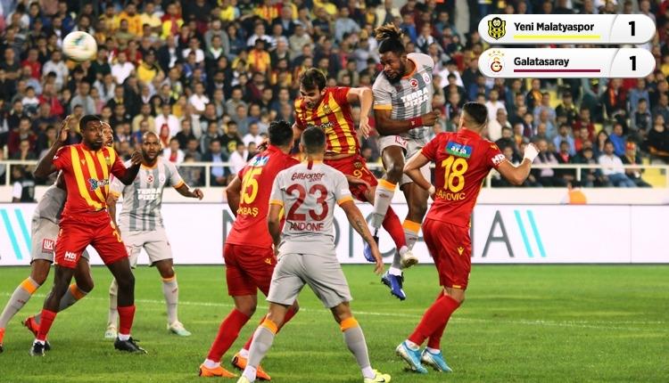 Yeni Malatyaspor 1-1 Galatasaray maç özeti (İZLE)