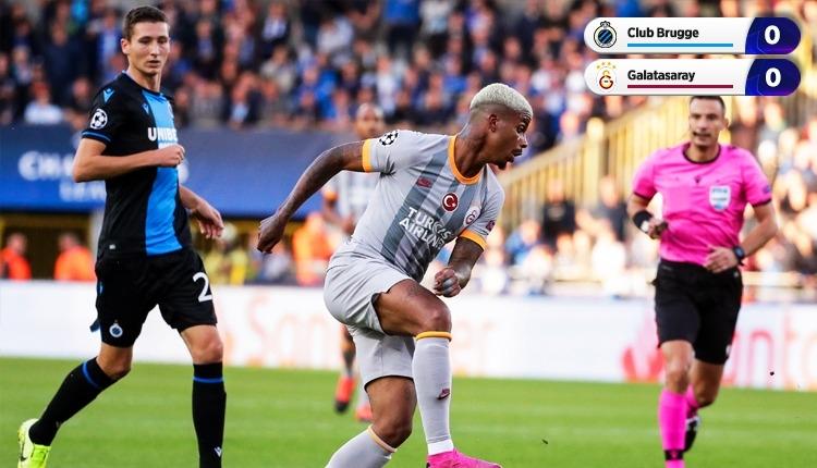 Galatasaray, Şampiyonlar Ligi'ne 1 puan ile başladı