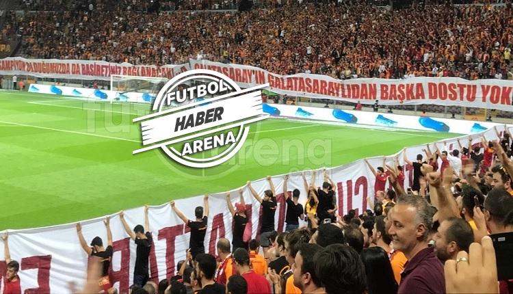 Galatasaray taraftarlarından tepki: