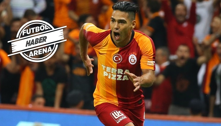 Galatasaray'da Falcao ilgisi