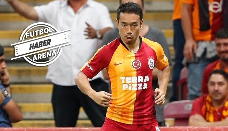 Galatasaray'da Nagatomo derbide tribüne mi çıkacak?