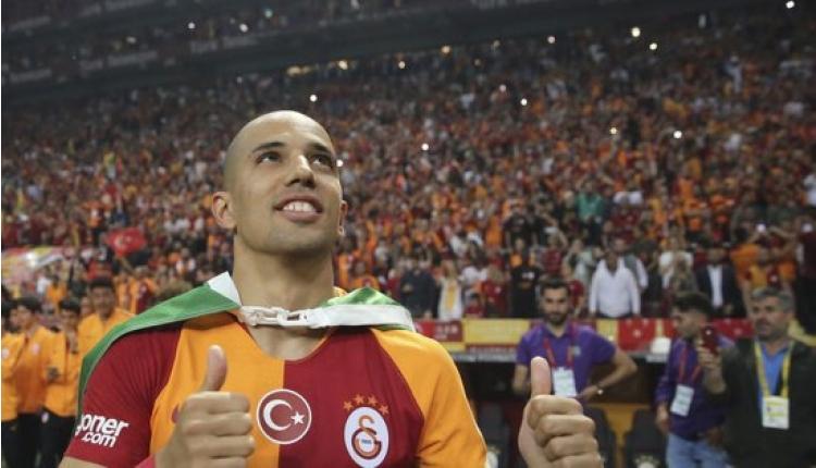 Galatasaray'da Sofiane Feghouli'den zam açıklaması
