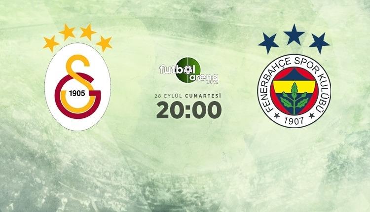 Galatasaray-Fenerbahçe canlı izle, Galatasaray-Fenerbahçe şifresiz İZLE (Galatasaray - Fenerbahçe beIN Sports canlı ve şifresiz maç İZLE)