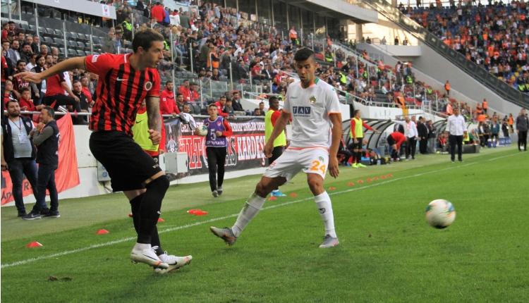 Gençlerbirliği 1-1 Alanyaspor maç özeti ve golleri (İZLE)