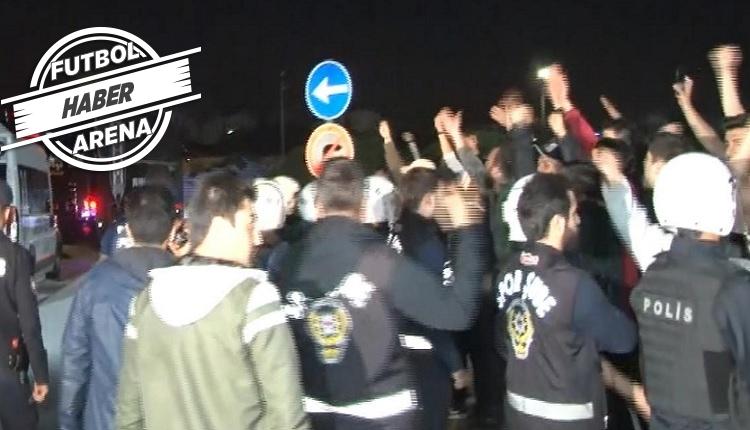 Havaalanında Fikret Orman ve Abdullah Avcı'ya protesto!