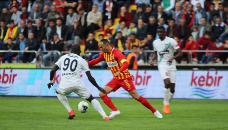 Kayserispor 1-1 Denizlispor maç özeti ve golleri (İZLE)
