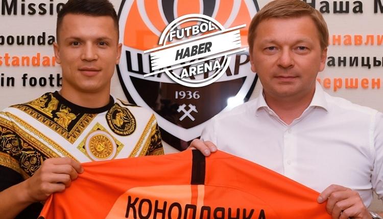 Konoplyanka Shakhtar Donetsk'te! 3 yıllık imza