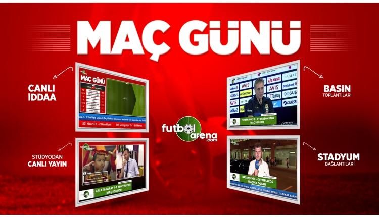 Maç Günü - Trabzonspor - Beşiktaş | FutbolArenaTV