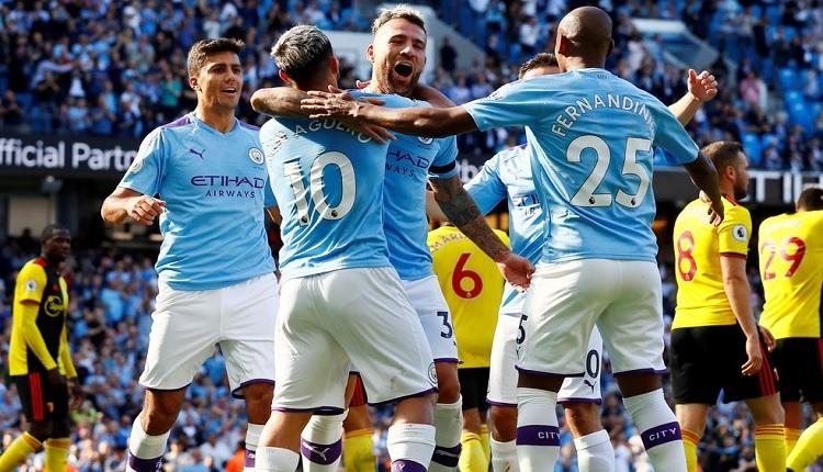 Manchester City 8-0 Watford maç özeti ve golleri (İZLE)