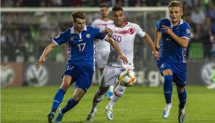 Moldova 0-4 Türkiye maç özeti ve golleri (İZLE)