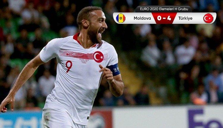 A Milli Takım'dan Moldova karşısında gol şov