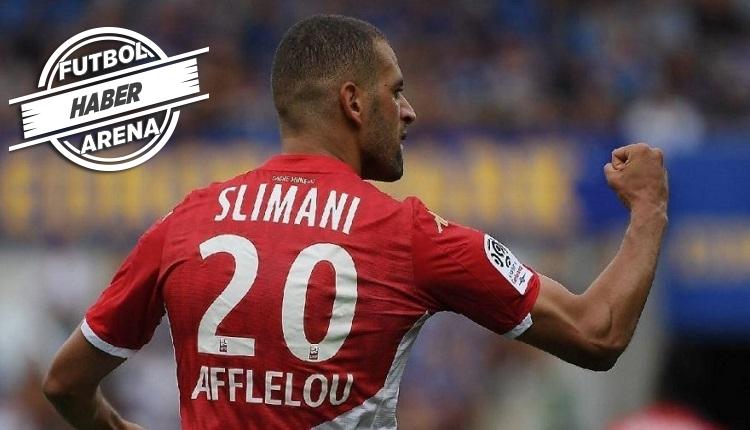 Monaco'da Slimani şov! 3 asist 1 gol lige damga vurdu
