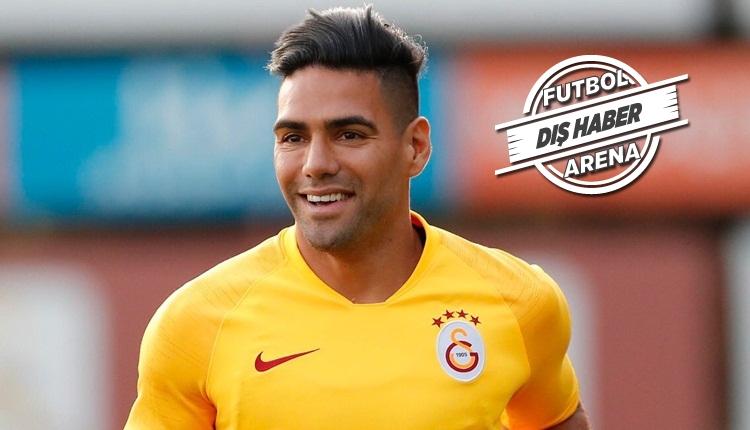 Radamel Falcao: 'Galatasaray taraftarı kalbimi fethetti'