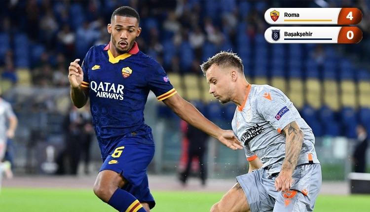 Roma 4-0 Medipol Başakşehir beIN Sports canlı izle