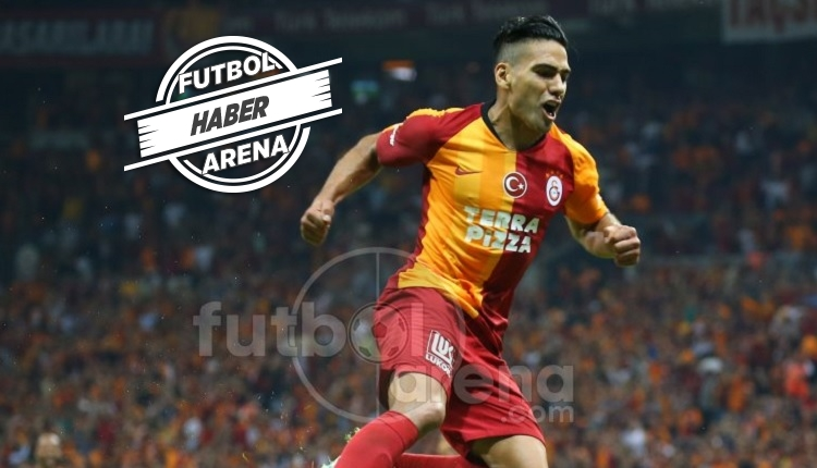Türkiye'de ilk golü! Falcao'nun Kasımpaşa'ya golü (İZLE)