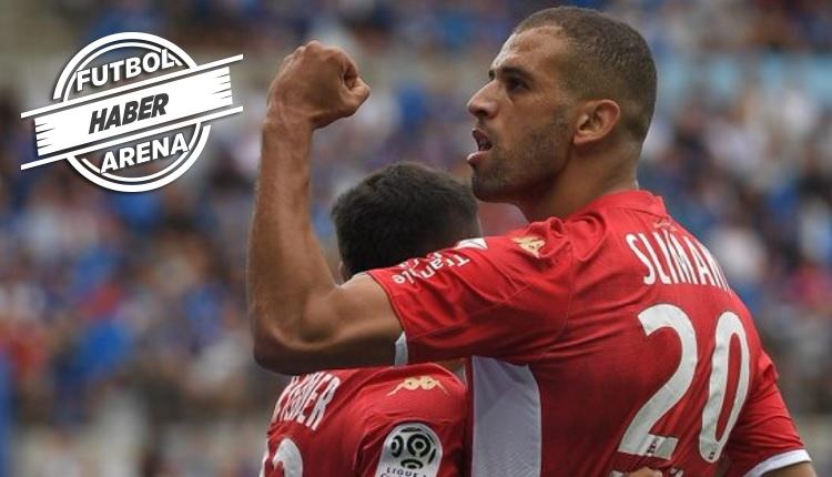 Slimani'den Monaco'da 2 maçta 3 gol (İZLE)