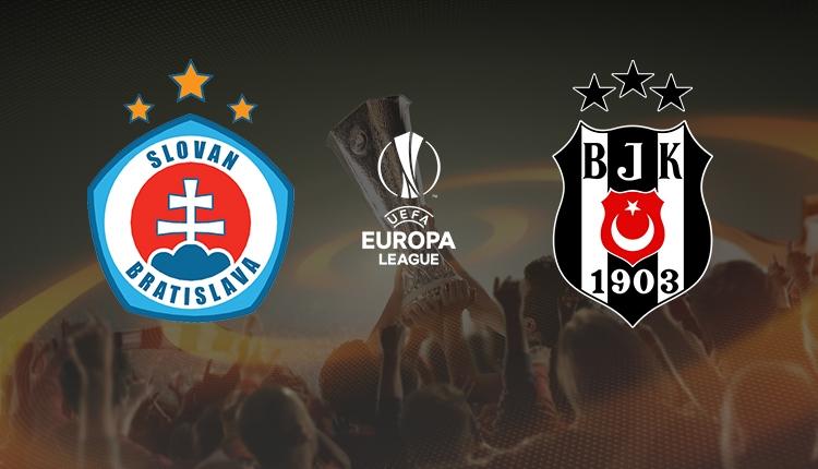 Slovan Bratislava - Beşiktaş canlı izle, Slovan Bratislava - Beşiktaş şifresiz izle (Slovan Bratislava - Beşiktaş beIN Sports 1 canlı ve şifresiz İZLE)