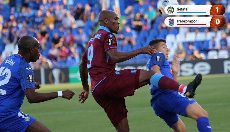 Trabzonspor, Avrupa Ligi'ne kötü başladı