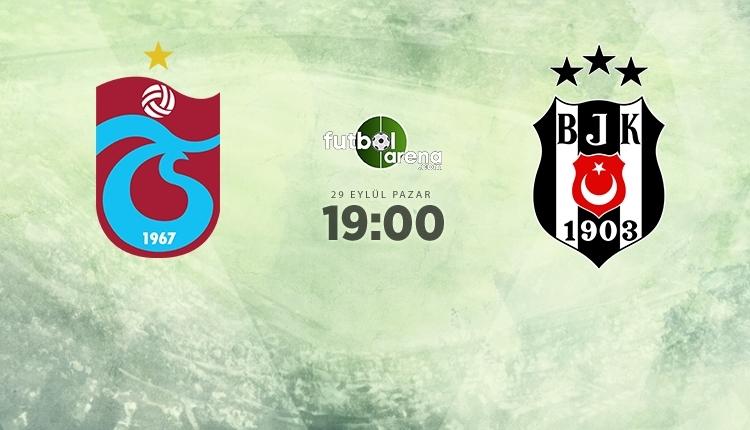 Trabzonspor - Beşiktaş canlı izle, Trabzonspor - Beşiktaş şifresiz İZLE (Trabzonspor - Beşiktaş beIN Sports canlı ve şifresiz maç İZLE)