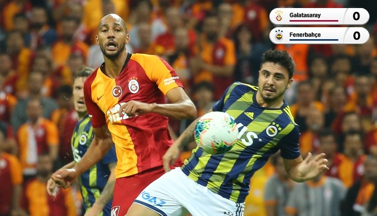 Türk Telekom Stadyumu'nda golsüz derbi