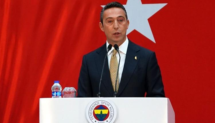 Ali Koç müjdeyi verdi! Kenan Evren arazisi Fenerbahçe'nin