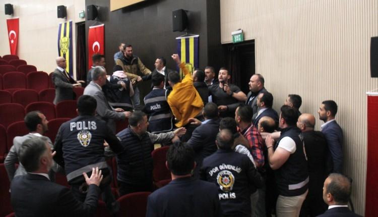 Ankaragücü Genel Kurulu'nda yumruklu kavga