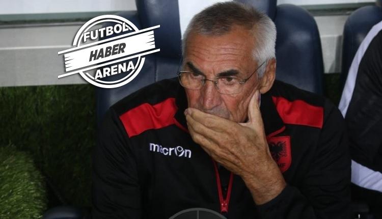 Arnavutluk Teknik Direktörü Edoardo Reja: Türkiye umutlarımızı bitirdi
