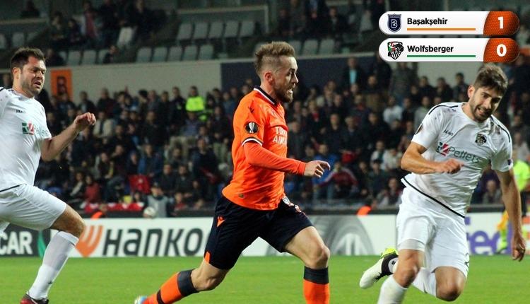 Başakşehir 1-0 Wolfsberger, beIN Sports maç özeti ve golü (İZLE)