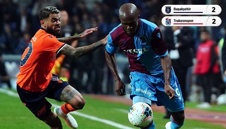 Başakşehir 2-2 Trabzonspor, beIN Sports maç özeti ve golleri (İZLE)