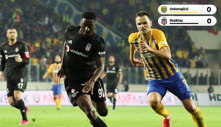 Beşiktaş, Ankaragücü engeline takıldı (İZLE)