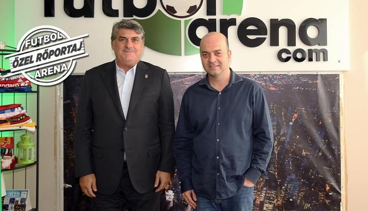 Beşiktaş Başkan Adayı Serdal Adalı, FutbolArena'ya konuştu