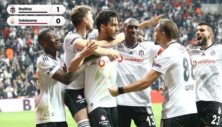 Beşiktaş, Galatasaray derbisini Umut Nayir ile kazandı (İZLE)