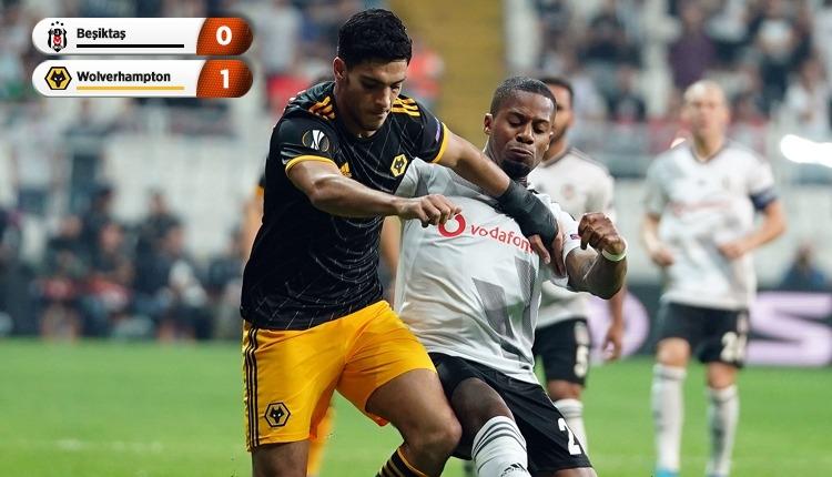 Beşiktaş, Vodafone Park'ta Wolverhampton'a kaybetti (İZLE)