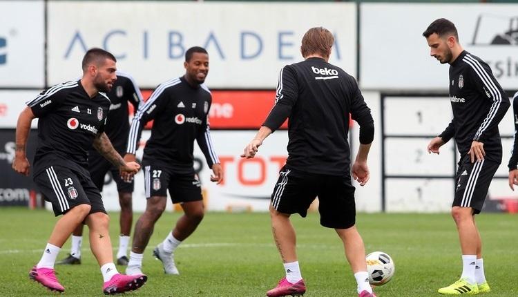 Beşiktaş'ta Braga maçında oynamayacak futbolcular