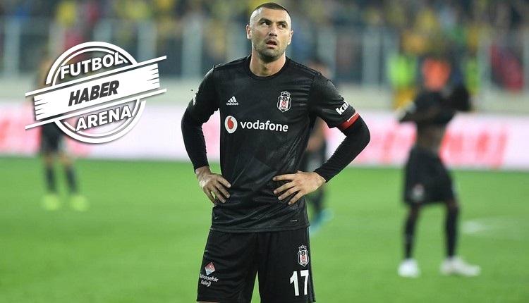 Beşiktaş'ta Burak Yılmaz şoku! Derbide oynayacak mı?