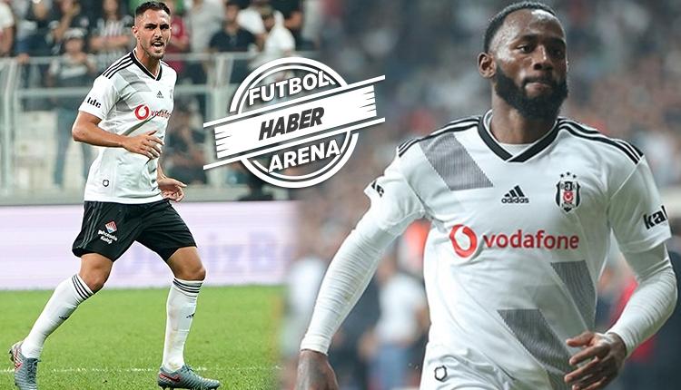 Beşiktaş'ta N'Koudou ve Ruiz kadrodan çıkarıldı