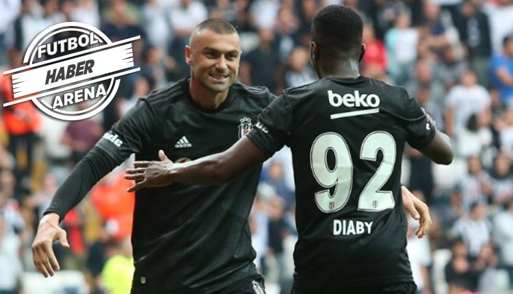 Beşiktaş'ta Burak Yılmaz, Diaby ve Douglas'ın sakatlık durumu