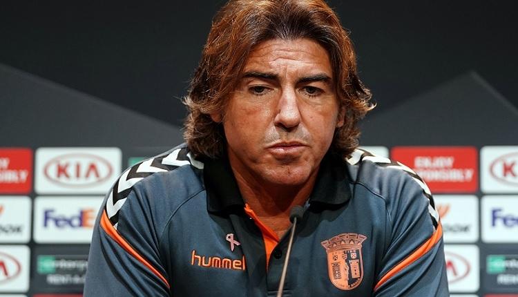 Braga Teknik Direktörü Pinto: Beşiktaş'ın Galatasaray derbisini lehimize çevirebiliriz
