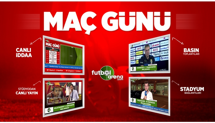 Maç Günü | Beşiktaş, Trabzonspor, Medipol Başakşehir