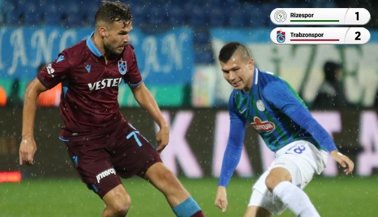Çaykur Rizespor 1-2 Trabzonspor, beIN Sports maç özeti ve golleri (İZLE)