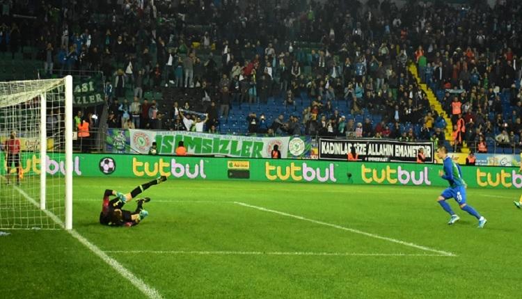 Çaykur Rizespor 2-0 Ankaragücü maç özeti ve golleri İZLE