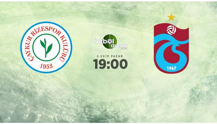 Çaykur Rizespor - Trabzonspor canlı ve şifresiz izle (beIN Sports 1 İZLE)