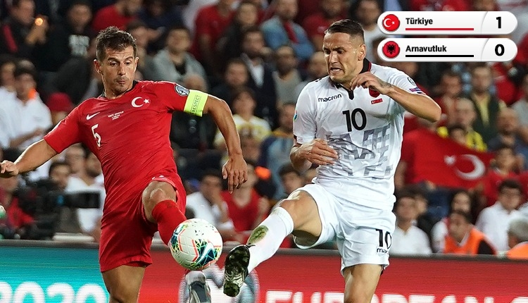 Cenk Tosun'dan altın gol! Arnavutluk'u devirdik (İZLE)