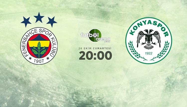 Fenerbahçe - Konyaspor canlı izle, Fenerbahçe - Konyaspor şifresiz İZLE (Fenerbahçe - Konyaspor beIN Sports canlı ve şifresiz İZLE)