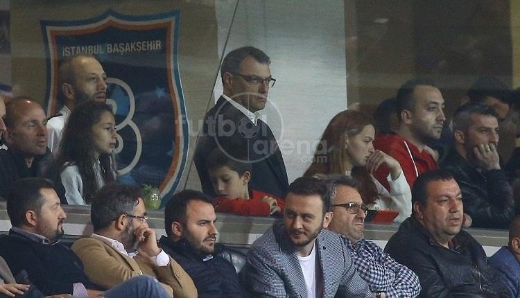 Comolli, Başakşehir - Trabzonspor maçında İrfan Can'ı izledi