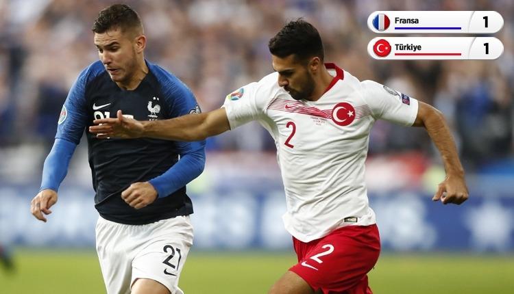 Fransa 1-1 Türkiye, TRT maç özeti ve golleri (İZLE)