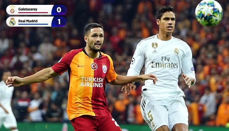 Galatasaray, Real Madrid'e tek golle kaybetti (İZLE)
